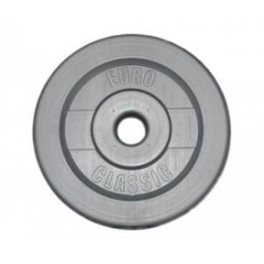 Диск для штанги виниловый d-26 2,5 кг
