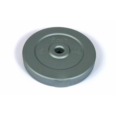 Диск для штанги виниловый d-26 5 кг