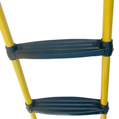 Лестница для батута DFC 6-10 футов (две ступеньки) желтый цвет (GC2-LP)