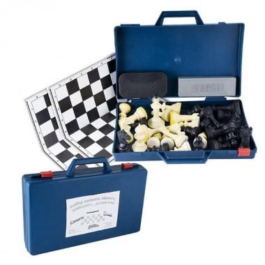 Набор настольных игр Походный 3 в 1 арт. G02-83 (шахматы, шашки, домино)