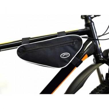 Велосумка подрамная перед.треуг. (черный/красный) ВС13-03