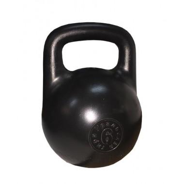 Гиря пластиковая с наполнителем Titan 6 кг