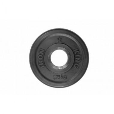 Диск обрезиненный черный Titan Евро-Классик d-51 1,25 кг