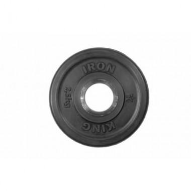 Диск обрезиненный черный Titan Евро-Классик d-51 2,5 кг