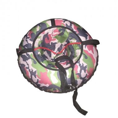 Надувные санки (тюбинг) «Ватрушка» Дизайн 65 см арт.15-113Р