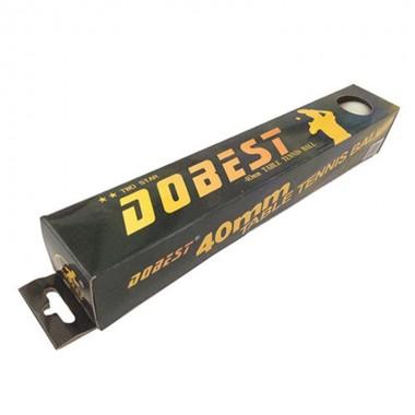 Мяч для настольного тенниса DOBEST BA-02 (2 звезды) 6шт/уп