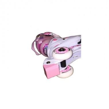 Коньки роликовые раздвижные Action PW-717 р.34-37
