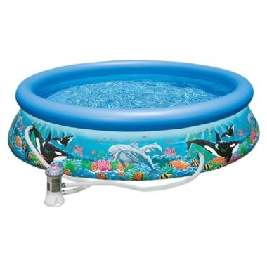 Надувной бассейн Intex Easy Set 28126/54902 Ocean Reef 305х76см