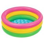 Надувной детский бассейн Intex Sunset Glow Baby 57107