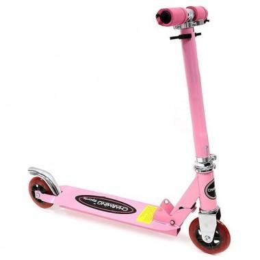 Самокат Charming Sports CMS001 розовый