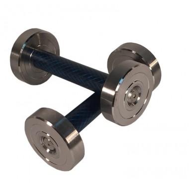 Гантель (1 шт) 1 кг сборная Атлант