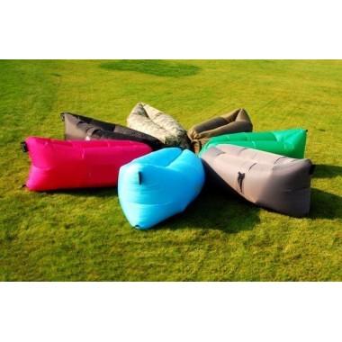 Лежак надувной GR200 (салатовый)