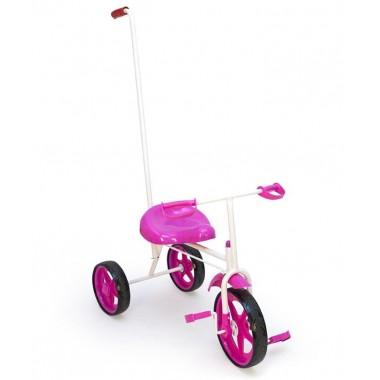 Велосипед трехколесный с держателем Absolute Champion BUMER (розовый)