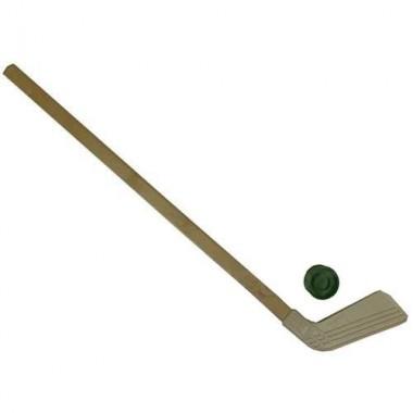 Клюшка детская хоккейная 80 см КХ-55 + шайба