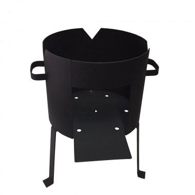 Печь для казана усиленная на 40 литров