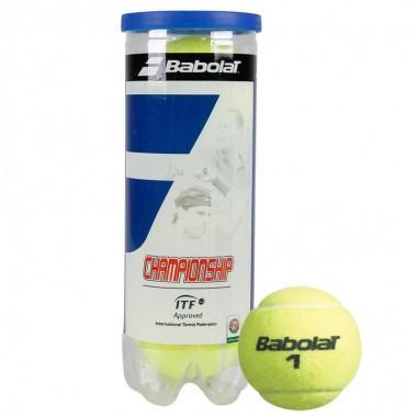 Мяч теннисный Babolat Championship 3B арт.501039 3 шт