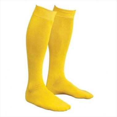 Гетры футбольные желтые р. 41-43