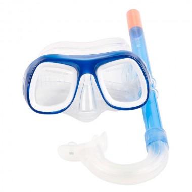 Набор маска + трубка Bestway 24007 синий