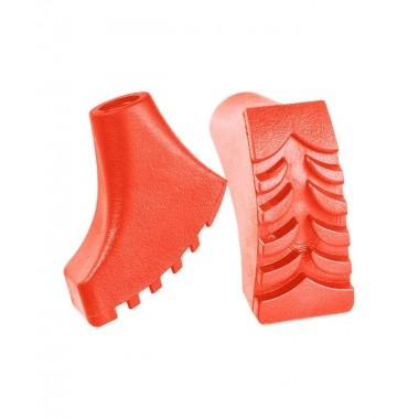 Комплект наконечников Berger  для скандинавских палок 2 шт., оранжевый