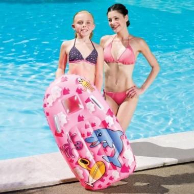 Доска надувная для плавания Bestway 42008 с ручками