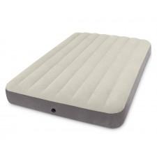 Матрас надувной флокированный Intex 64102 Full Deluxe Single-High Airbed (191х137х25 см)