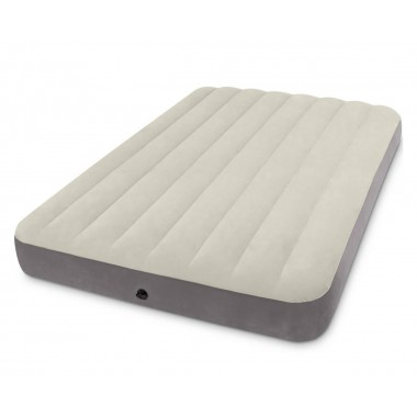 Полуторный надувной матрас Intex 64102 Full Deluxe Single-High Airbed (191х137х25 см)
