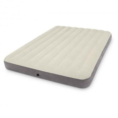 Двуспальная надувная кровать Intex 64103 Queen Deluxe Single-High Airbed (203х152х25см)