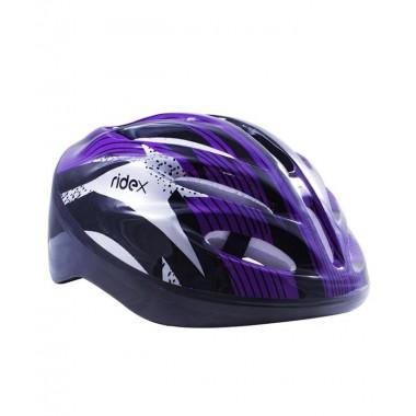 Шлем защитный RIDEX Cyclone фиолетовый/черный