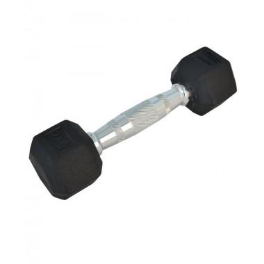 Гантель обрезиненная STARFIT DB-301 2 кг черная