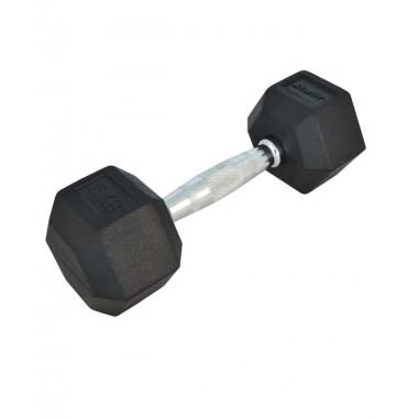 Гантель обрезиненная STARFIT DB-301 6 кг черная