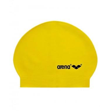 Шапочка для плавания Arena SoftLatex арт.9129431yellow/black, латекс