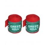 Бинт боксерский Green Hill BC-6235c 3,5м красный