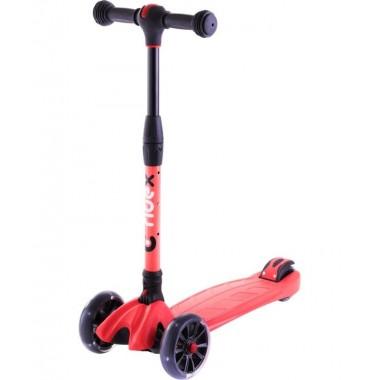 Самокат 3-колесный Ridex Stark 3D красный