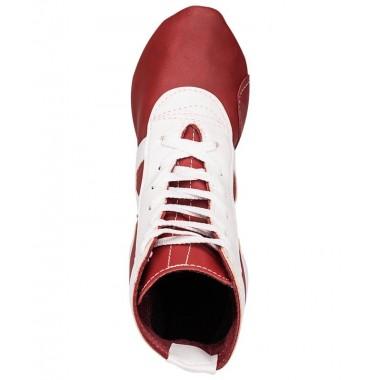 Самбовки Rusco Sport SM-0102 (нат. кожа, красный, р.32)