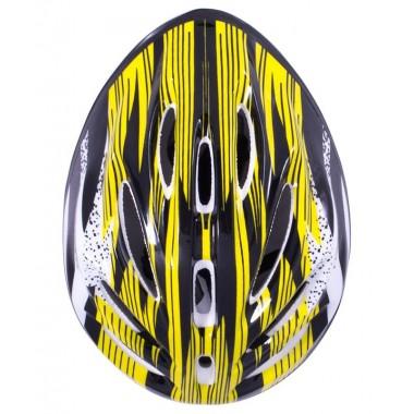 Шлем защитный Ridex Cyclone желтый/черный