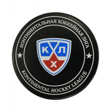 Шайба хоккейная Gufex КХЛ в блистере