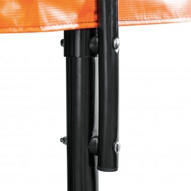 Батут DFC KENGOO 20FT-TR-E-BAS 20 футов (610 см) внутренняя сетка, лестница