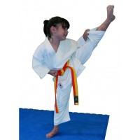 Кимоно для карате детское KAMIKAZE ECONOMIC/KODOMO (белый, р.0/130)