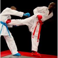 Кимоно для карате детское KAMIKAZE Competition Kumite WKF (белый, р.2/150)
