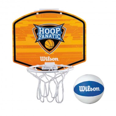 Набор для мини-баскетбола Wilson Hoop Fanatic Mini hoop kit арт.WTBA00435