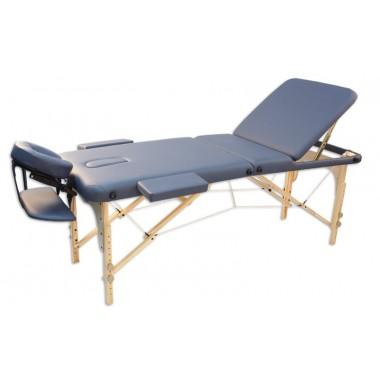 Складной массажный стол Oxygen Ecoline 100 (бежевый)