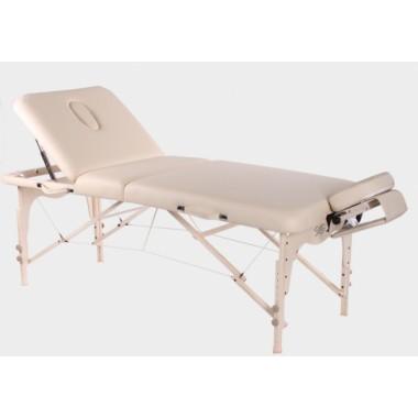 Складной массажный стол Vision Juventas Deluxe (коричневый)