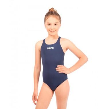 Купальник спортивный Arena Solid Swim Pro Jr арт.2A26375 р.12-13 Navy/White