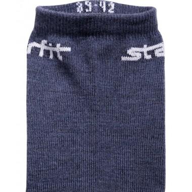 Носки средние StarFit SW-206 р.43-46 2 пары темно-синий/синий меланж