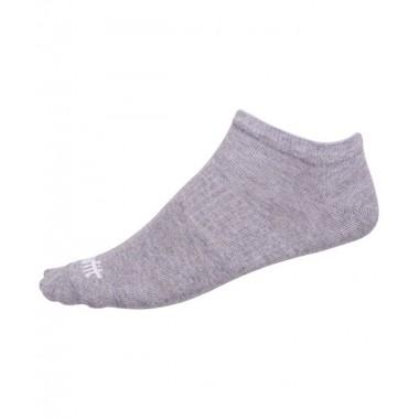 Носки низкие StarFit SW-205 р.43-46 2 пары белый/светло-серый меланж