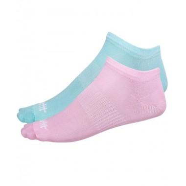 Носки низкие StarFit SW-205 р.39-42 2 пары мятный/светло-розовый