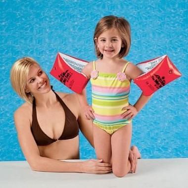 Нарукавники надувные плавательные Intex 58641NP Large Deluxe Arm Bands от 6-12 лет
