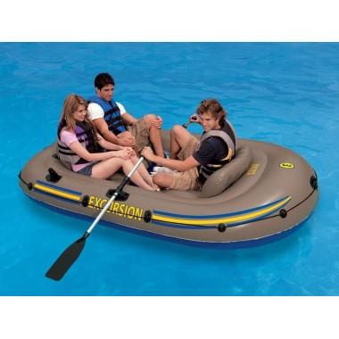 Лодка INTEX надувная трёхместная EXCURSION 68319