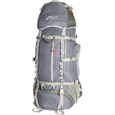 Рюкзак экспедиционный NOVA TOUR Юкон 115 V2 Серый/олива
