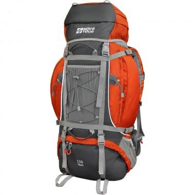 Рюкзак экспедиционный NOVA TOUR Тибет 110 Серый/терракотовый